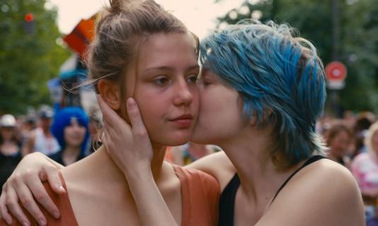 Adèle Exarchopoulos (Adèle) et Léa Seydoux (Emma)