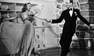 Ginger Rogers (Amanda) et Fred Astaire (Doc Flagg)