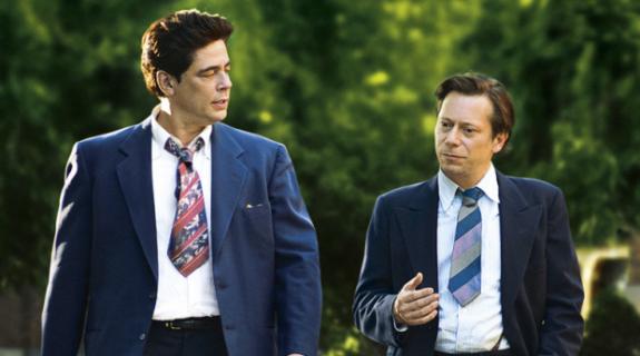 Benicio Del Toro (Jimmy Picard) et Mathieu Almalric (Georges Devereux)