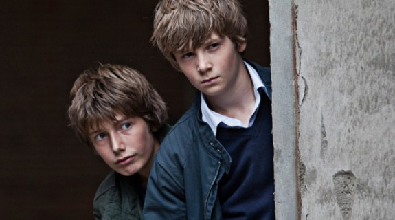 Markus Rygaard (Elias) et William John Nielsen (Christian)