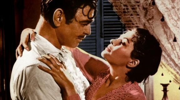 Clark Gable (Hamish Bond), Yvonne de Carlo (Amantha Star)
