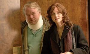Philip Seymour Hoffman (Jon) et Laura Linney (Wendy)